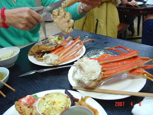 4-6 中餐 神戶螃蟹工房-好吃.JPG