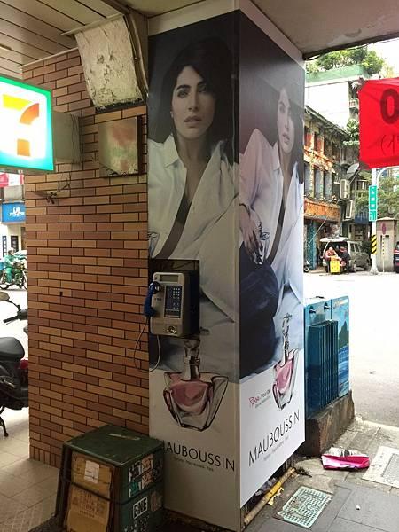 [玖陽視覺]店外柱貼 大圖輸出 貼圖施工