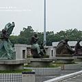 豐樂公園洋紅風鈴木 (2)