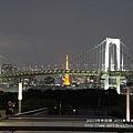 東京自由行彩虹橋夜景