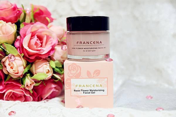減齡睡眠魔法.Francena法蘭西娜.玫瑰全效煥顏凍膜