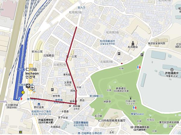 童話村地圖