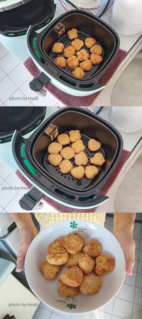 安晴氣炸鍋 雞塊 溫度180 時間6 翻面4.jpg