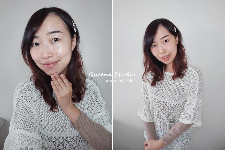 高雄霧眉推薦 Queena Studio 素顏淡妝也很美很有神.jpg