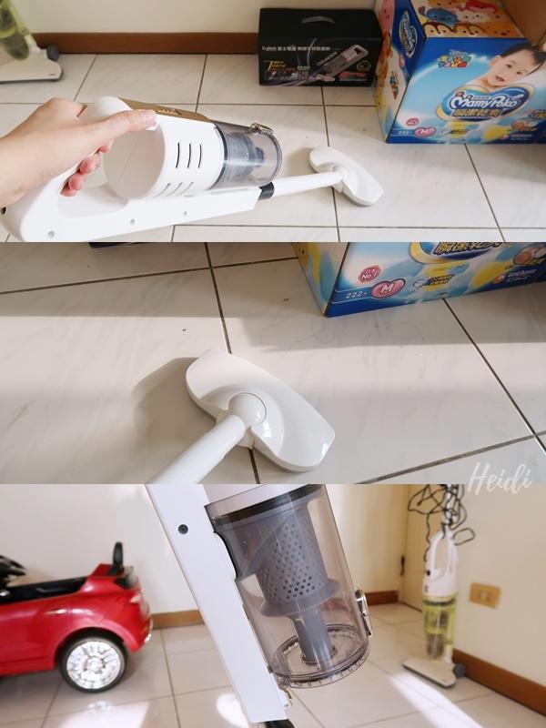 富士電通 無線手持吸塵器 吸地板1.jpg