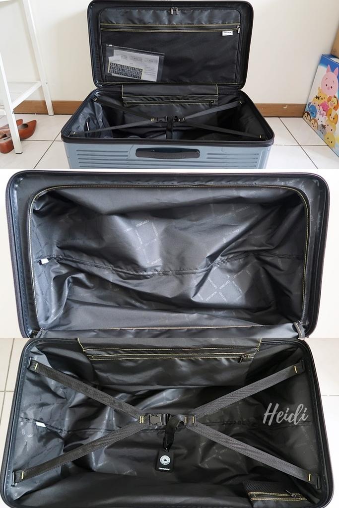 百夫長CENTURION 29吋胖胖箱 行李箱內裝空間 夏威夷藍 飛行海蒂.jpg