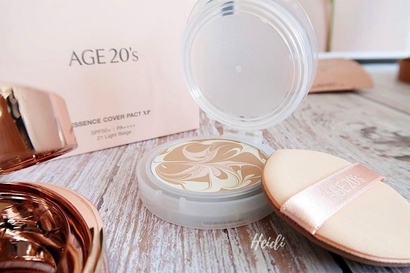 AGE20's光感璀璨爆水粉餅