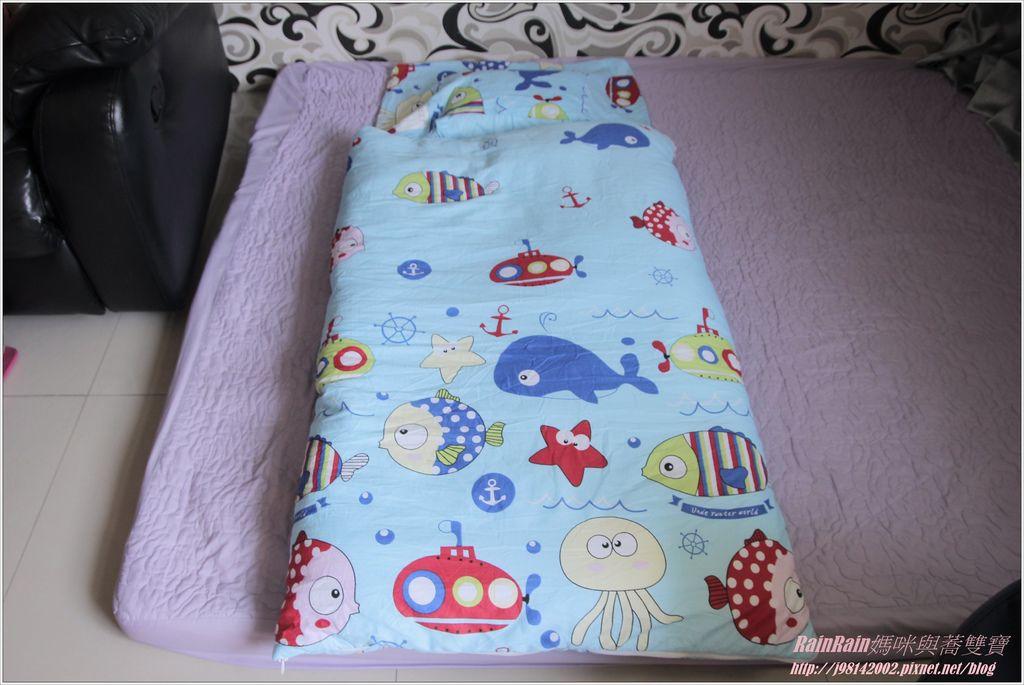 向日葵睡眠屋兒童睡袋9.JPG