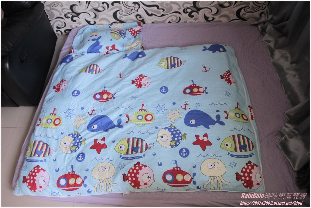 向日葵睡眠屋兒童睡袋10.JPG