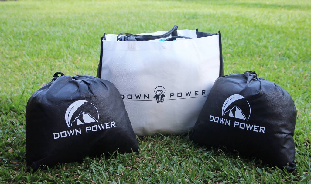 Down Power旅絨枕1.JPG