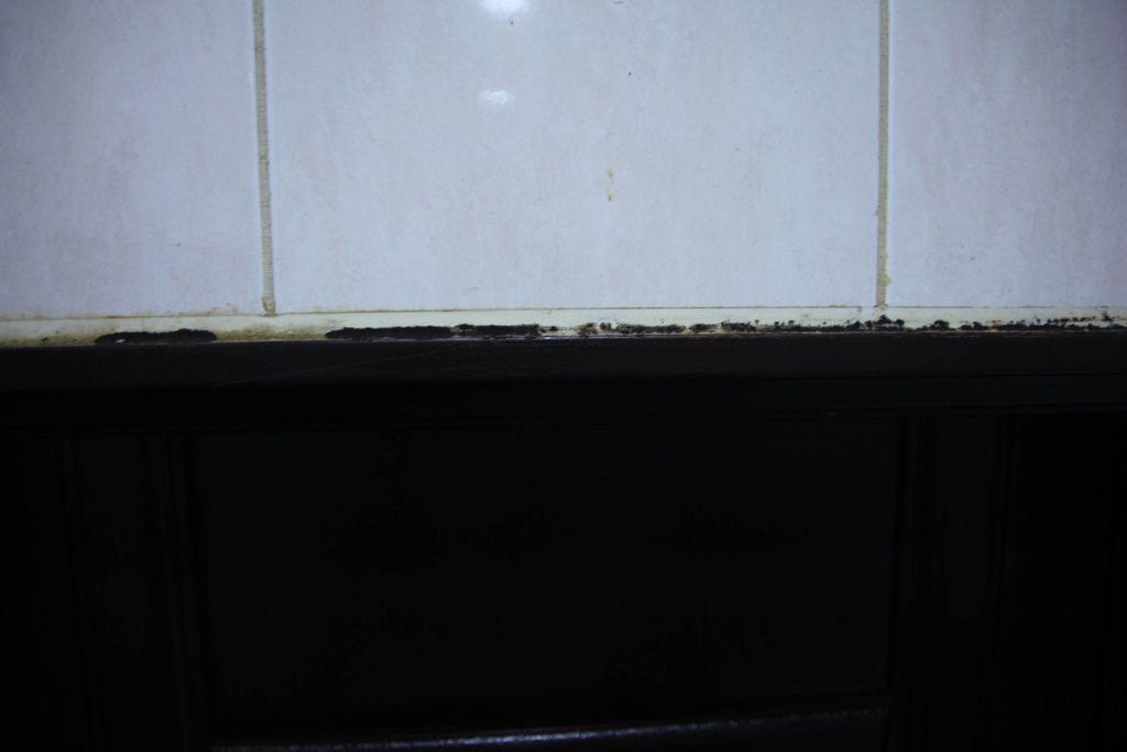 浴室矽利康的除霉清潔9.JPG