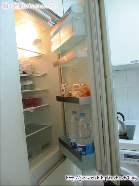 冰箱裏有前房客留下來的東西哦!!