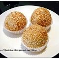 君悅飯店滬悅庭-芝麻球
