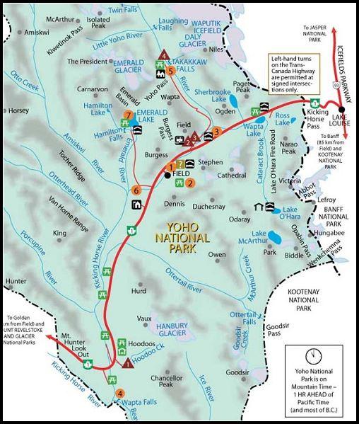 Canada_map_Yoho national Park-f