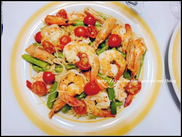 鮮蝦蘆筍義大利麵23-f