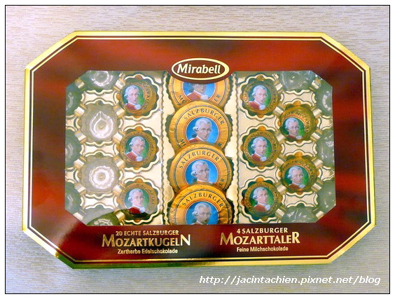 mozart chocolate