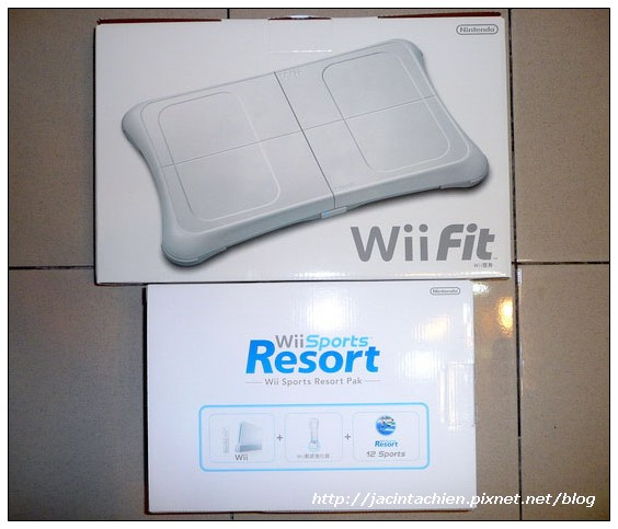 wii Sport Resort & wii Fit