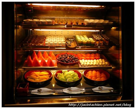欣葉日本料理-水果區
