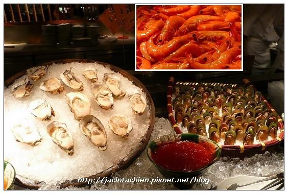 欣葉日本料理-生蠔蝦子