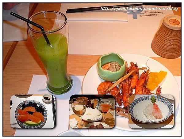 欣葉日本料理-盤內物