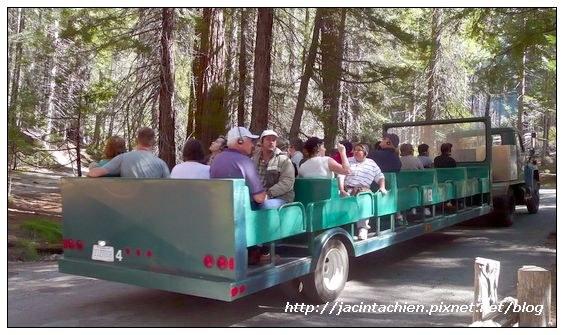 Yosemite優勝美地-遊園車