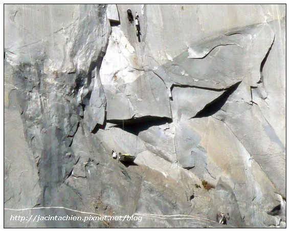 Yosemite優勝美地-El Capitan-攀岩者