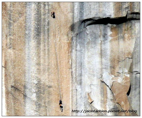 Yosemite優勝美地-El Capitan-攀岩者2