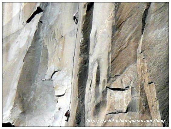 Yosemite優勝美地-El Capitan-攀岩者3