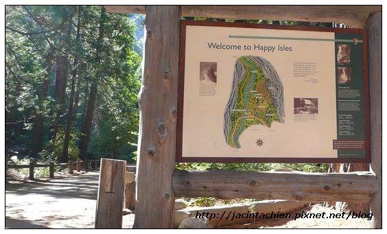 Yosemite優勝美地-Happy Island
