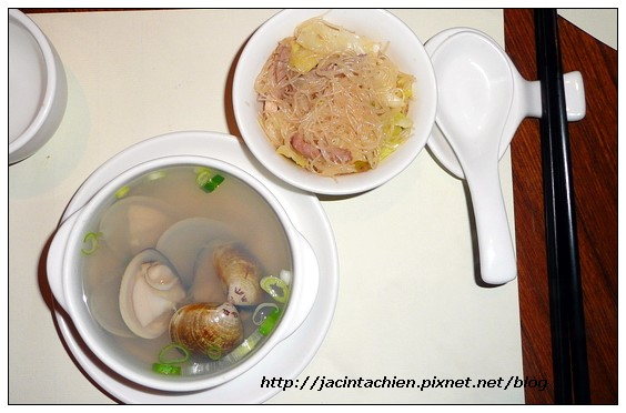 米湯和蛤仔湯