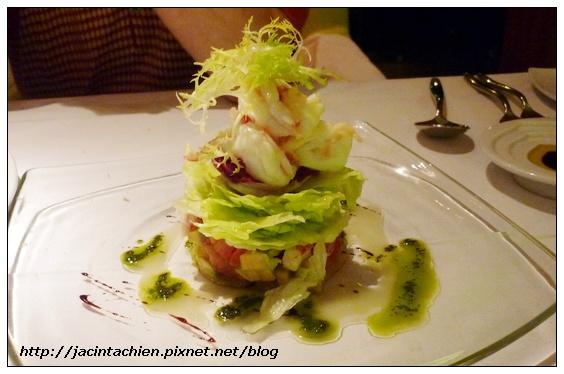 六福皇宮 Daniels's 義大利餐廳-沙拉01
