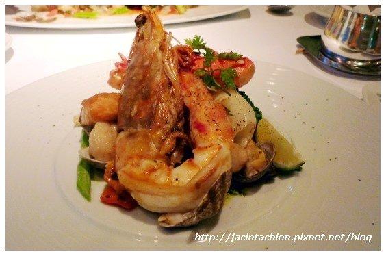 六福皇宮 Daniels's 義大利餐廳-海鮮盤