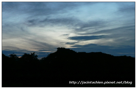吳哥窟-凌晨之小吳哥天空