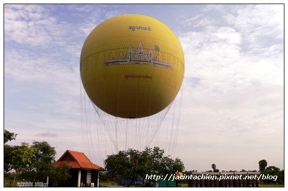 吳哥窟 - 熱氣球