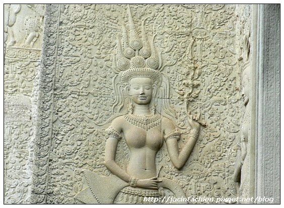 吳哥窟-阿普沙拉女神