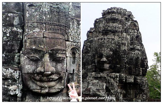 吳哥窟-巴揚寺(Bayon)微笑高棉