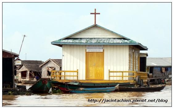 吳哥窟-洞里薩湖教堂