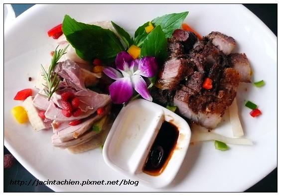 廚房- 醉雞鹹豬肉雙拼