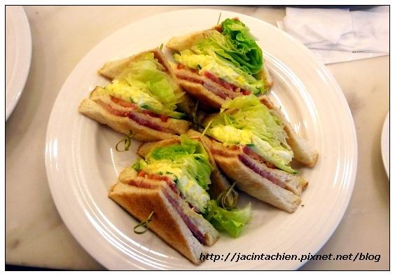 米朗琪咖啡館-蜜汁火腿三明治