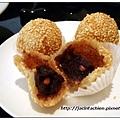 君悅飯店滬悅庭-芝麻球內餡