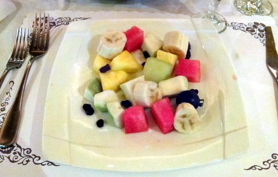 特香齋西餐廳-水果拉沙