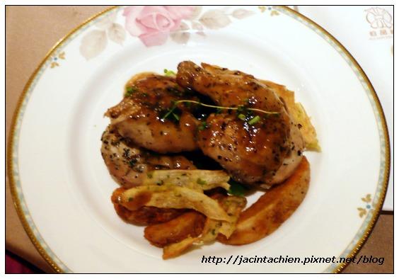 神旺伯品廊「品蟹季」晚餐-雞腿排