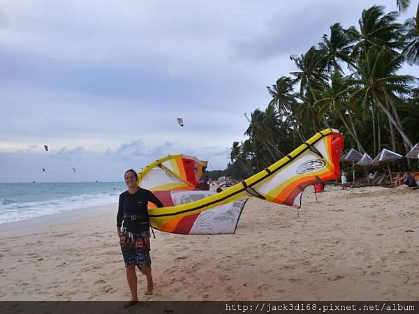 萊行樂_長灘島_風箏衝浪 Boracay