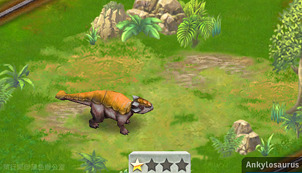 Ankylosaurus_甲龍_黑色辦公室