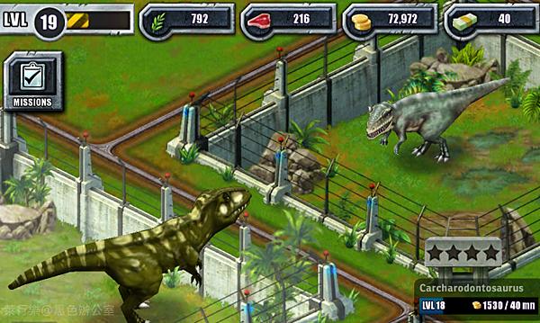 Carcharodontosaurus_鯊齒龍3_黑色辦公室