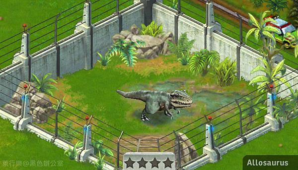 Allosaurus_異特龍2_黑色辦公室