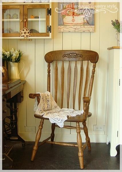 熊熊木工房-橡木溫莎椅