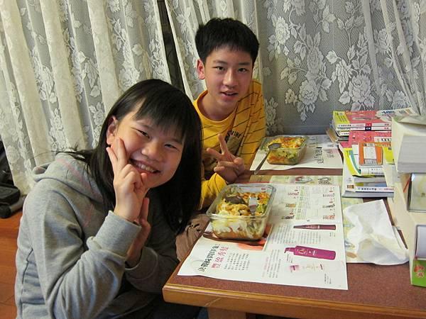 01好吃的晚餐~焗烤螺旋麵.JPG