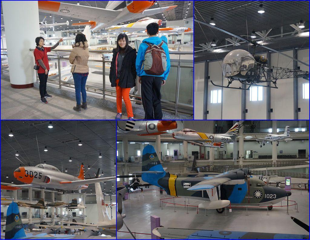 04展示區裡有好多飛機~有專人為我們解說.jpg