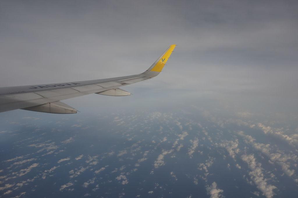 09飛上天空了~前往成田機場.JPG